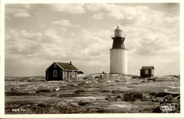 Äldre bild av Hållö Fyr